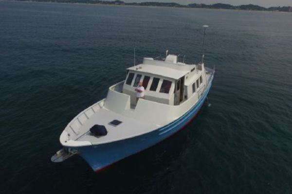 2013Seaton 53 ft Pilot House Trawler   Substantial