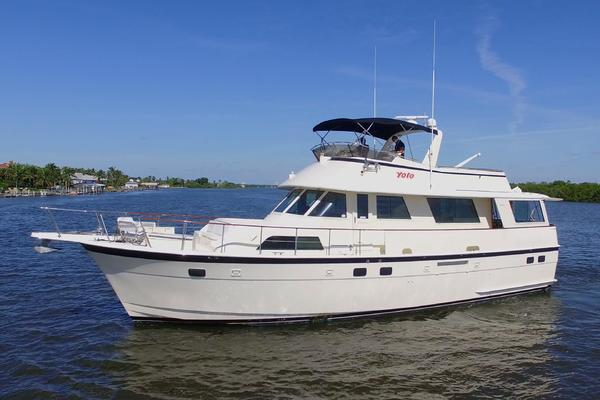 58-ft-Hatteras-1985-58 Motor Yacht-YOLO Fort Myers Beach Florida United States  yacht for sale