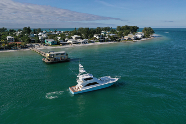 Picture Of: 74' Viking 74 Enclosed Bridge 2005 Yacht For Sale | 3 of 70