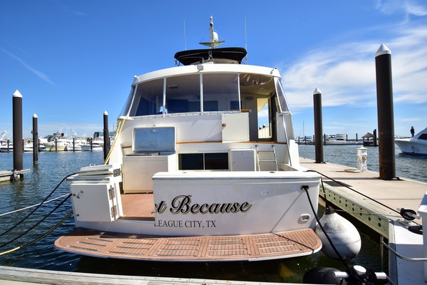 Picture Of: 67' Hatteras 67 Cockpit Motor Yacht 1989 Yacht For Sale | 4 of 24