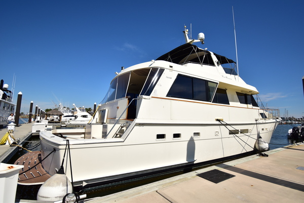 Picture Of: 67' Hatteras 67 Cockpit Motor Yacht 1989 Yacht For Sale | 3 of 24