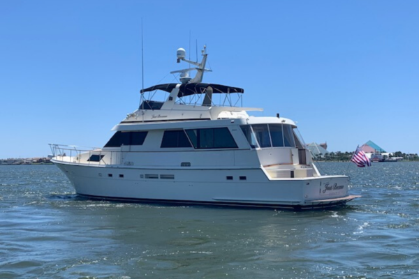 67' Hatteras 67 Cockpit Motor Yacht 1989 | Why Knot Just Because