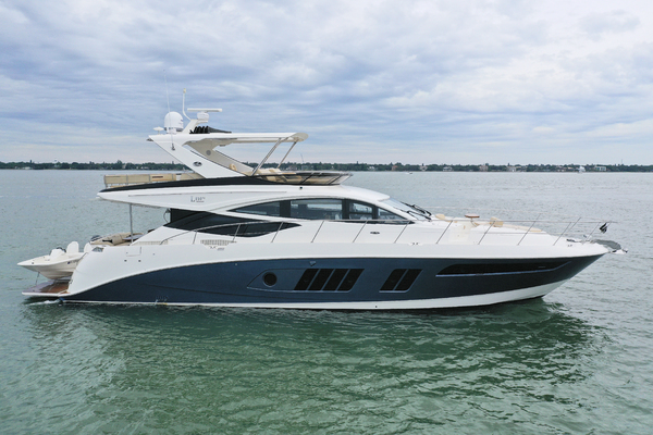 65' Sea Ray L650 2016 | 3x's The Charm