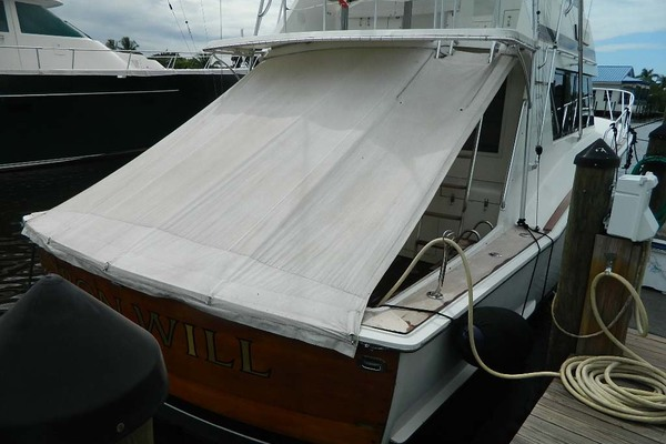 1988 Hatteras 52' 52 Sport Fisherman Iron Will | Picture 5 of 64