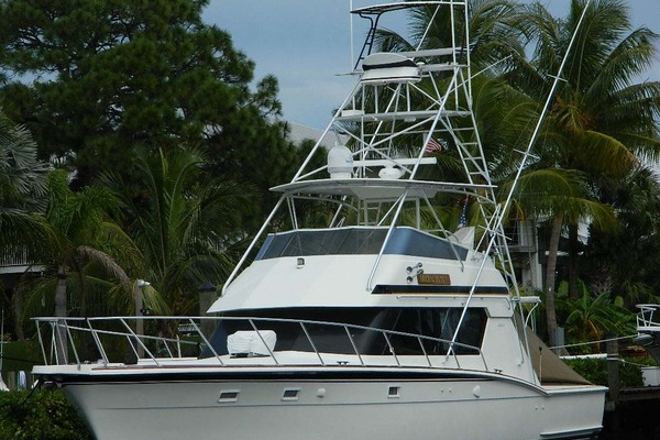 1988 Hatteras 52' 52 Sport Fisherman Iron Will | Picture 6 of 64