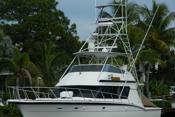 1988 Hatteras 52' 52 Sport Fisherman Iron Will | Picture 1 of 64