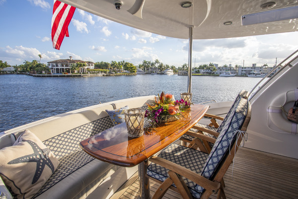 Picture Of: 73' Hatteras 72 2008 Yacht For Sale | 4 of 21