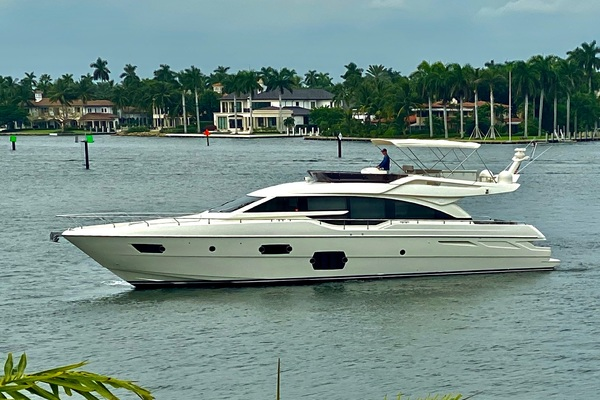 69' Ferretti Yachts 690 2013 | Rally Round The Family
