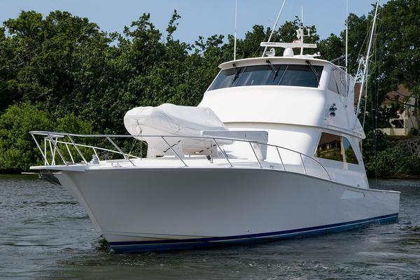 65' Viking 61 Enclosed Bridge Convertible 2005 | Ya Ya Ya