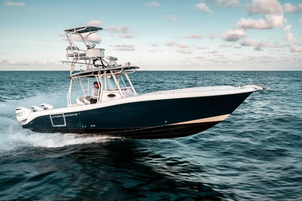 33' Hydra-sports 3400 Cc 2013 | Hooked Up