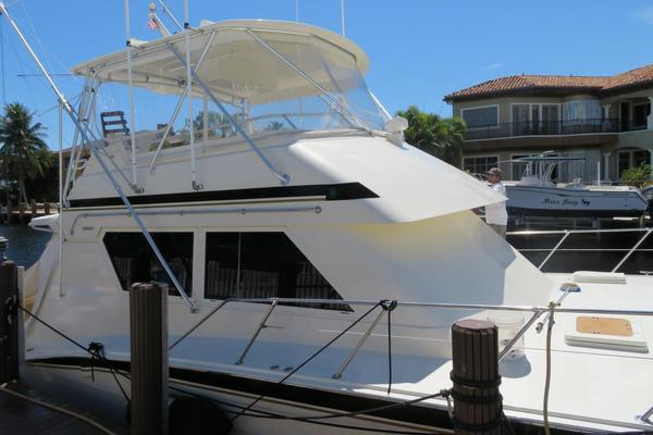 55' Hatteras  1988 | High Bid
