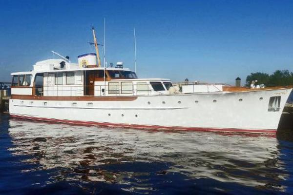 Picture Of: 68' Trumpy Cruiser 1954 Yacht For Sale | 2 of 43