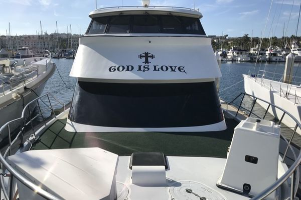 1989 Custom 65' La Conner Sky Lounge God Is Love   Picture 1 of 28