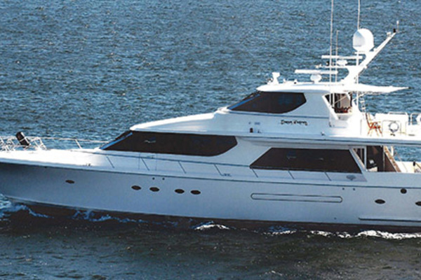 87' West Bay Custom Enclosed Bridge 2005 | Dream Weaver