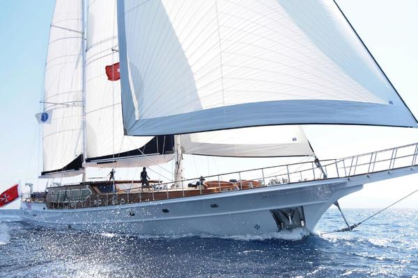 144' Ketch Pax Navi Yachts 2010 | Clear Eyes