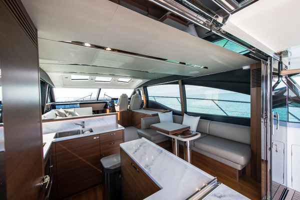 2017 Princess 65' S65 KEEPIN' IT LIGHT  | Picture 4 of 28
