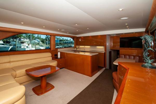 Picture Of: 61' Viking 61 Convertible 2001 Yacht For Sale | 3 of 56