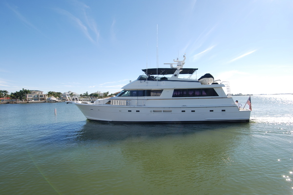 Picture Of: 70' Hatteras 70' Cockpit Motoryacht 1992 Yacht For Sale | 2 of 85
