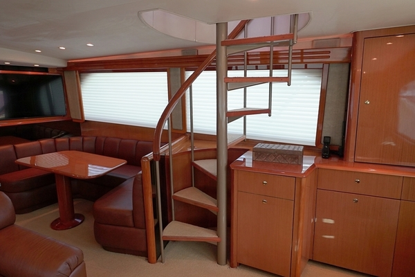 Picture Of: 61' Viking Enclosed Bridge 2004 Yacht For Sale | 3 of 42