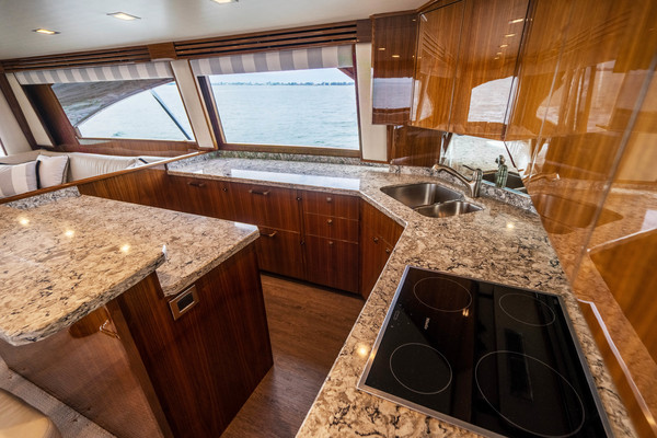 Picture Of: 72' Viking 72 EB Convertible 2017 Yacht For Sale | 3 of 50