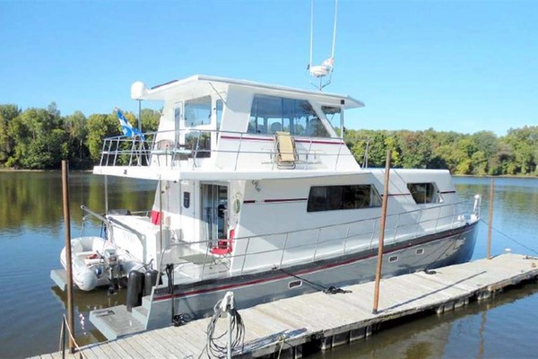 Picture Of: 50' Custom Artisanal Power Catamaran 2014 Yacht For Sale | 2 of 32