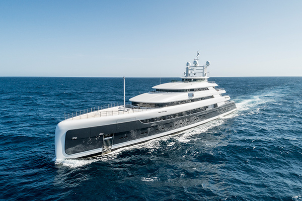 Pride Mega Yachts 290'  2018 Illusion Plus