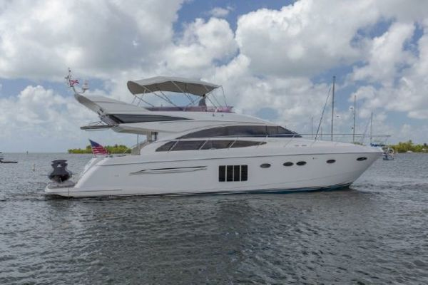 Picture Of: 64' Princess Flybridge 64 Motor Yacht 2012 Yacht For Sale | 3 of 98