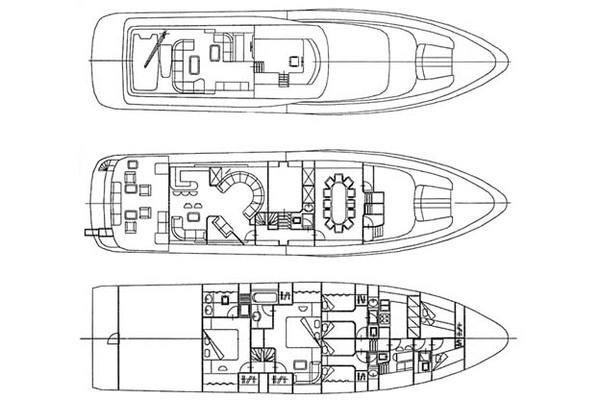 1998 Mangusta 86 ft  - INDULGENCE OF POOLE