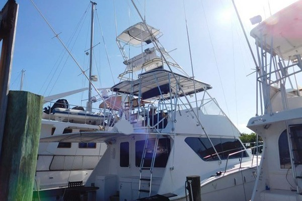 1986 Hatteras 52' Convertible My Alyby   Picture 1 of 64