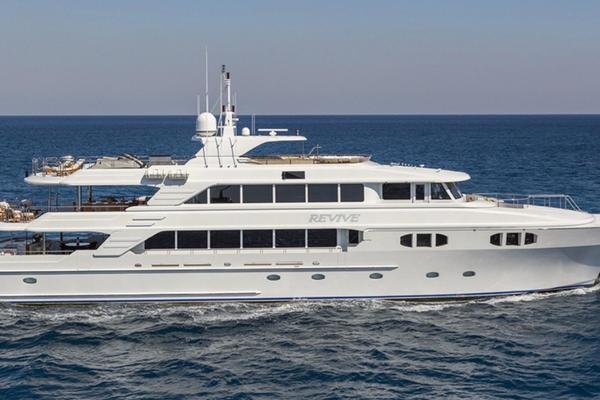 150' Richmond Yachts Tri-deck Motor Yacht 2013 | Revive