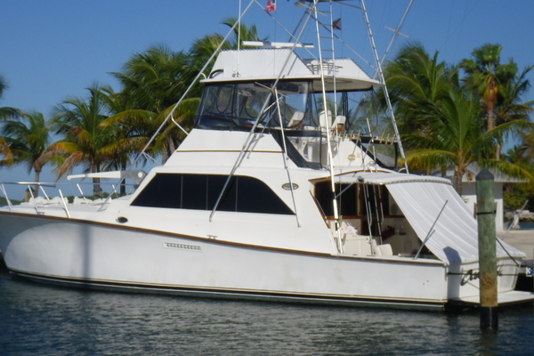 1985Ocean Yachts 55 ft Super Sport   Ocean Hunter
