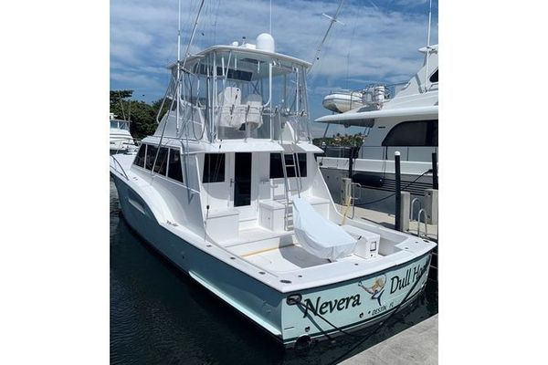 53' Hatteras Sportfish 1979 | Nevera Dull Hook