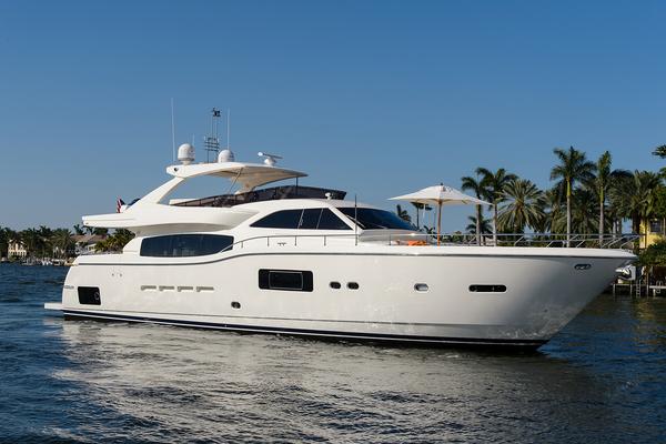 84-ft-Ferretti Yachts-2013-840 Altura-Zanzibar Fort Lauderdale Florida United States  yacht for sale