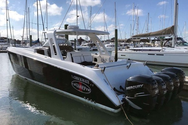 42' Cigarette 42 Huntress 2012 | T/t Checkmate