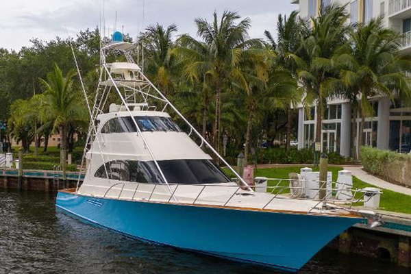 1998 Pettegrow 68' 68 Enclosed Flybridge Boomer | Picture 1 of 26