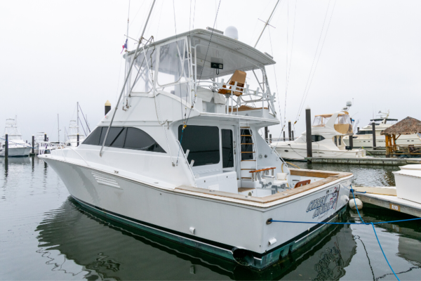 49' Starship 49 Sportfish 1990 | Current Control