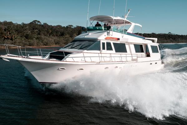 Picture Of: 70' Viking Cockpit Motor Yacht 1990 Yacht For Sale | 3 of 67