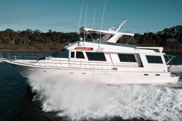 Picture Of: 70' Viking Cockpit Motor Yacht 1990 Yacht For Sale | 4 of 67