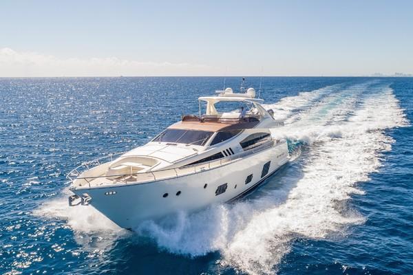 80-ft-Ferretti Yachts-2016-800-Bella Rona Boca Raton Florida United States  yacht for sale