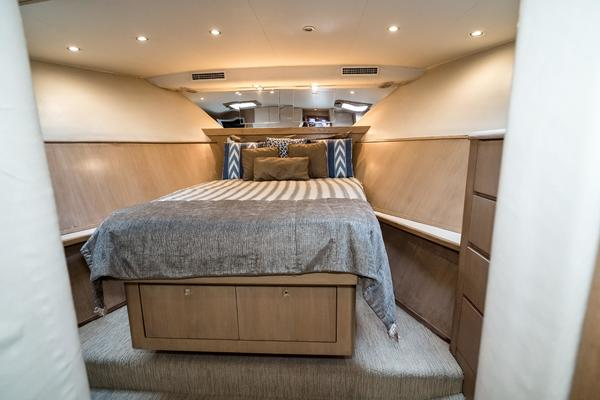 Picture Of: 65' Hatteras Enclosed Bridge 1995 Yacht For Sale | 2 of 18