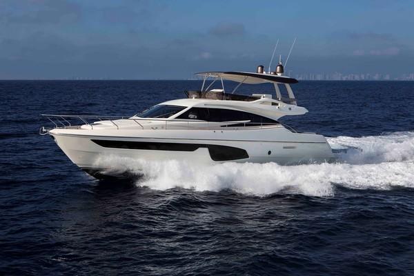 65-ft-Ferretti Yachts-2015-650-Mystic Lady Miami Florida United States  yacht for sale