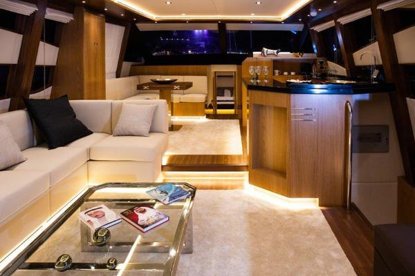 Picture Of: 69' Riviera Hull #1 2019 Yacht For Sale | 3 of 22