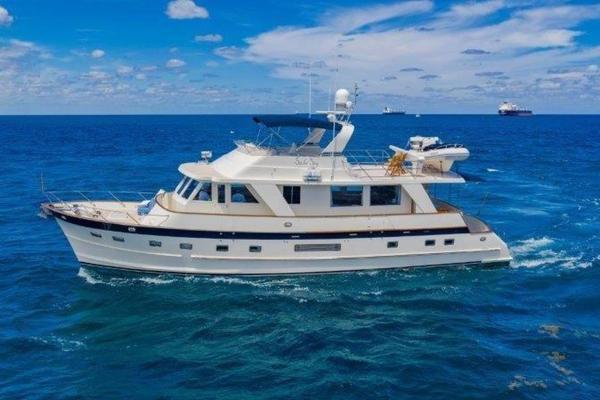 65' Grand Alaskan Flush-deck Cruiser 2001 | Silver Sky
