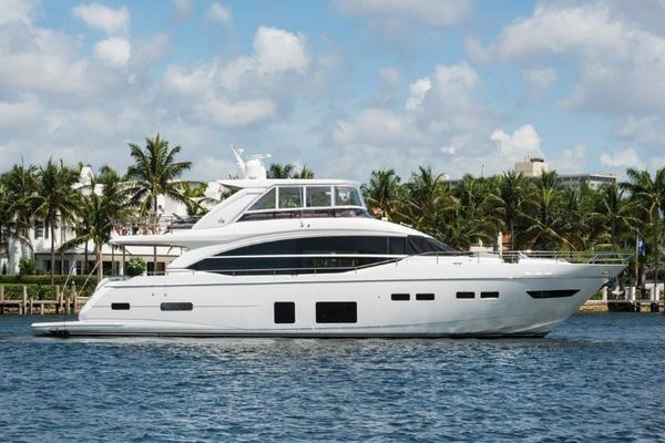 75' Princess 75 Motor Yacht 2017 | I Dream Of Jeannie