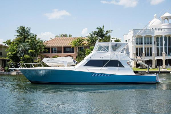 58' Viking 58 Convertible (painted) 1995 | Great Grief