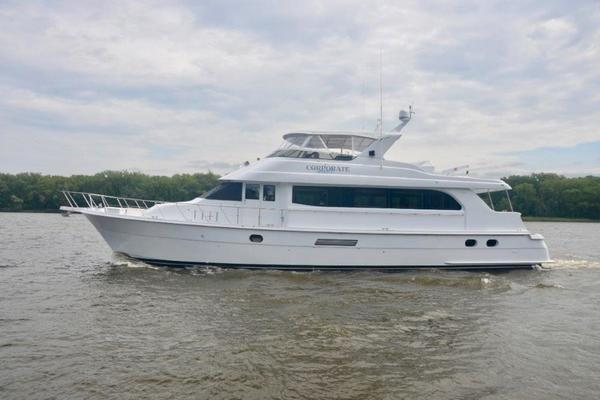 75' Hatteras 75 Motor Yacht 2002 | Corporate Approved