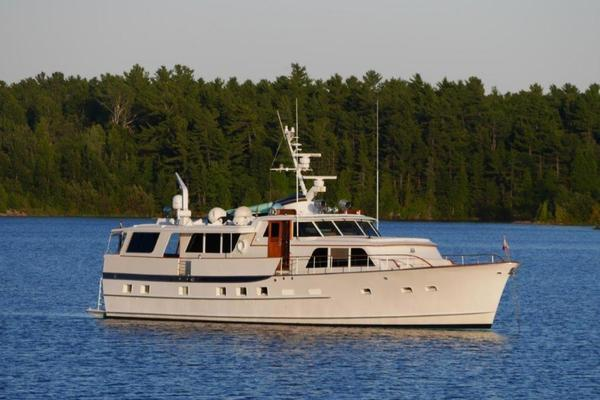 72' Burger Raised Pilothouse 1968 | Independence