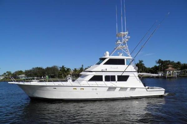 65' Hatteras 65 Enclosed Bridge 1990 | One Lucky Punch