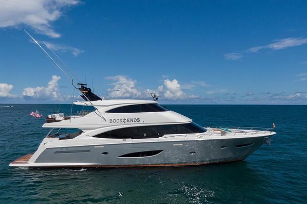 93' Viking Motoryacht Enclosed Flybridge 2018 | Book Ends