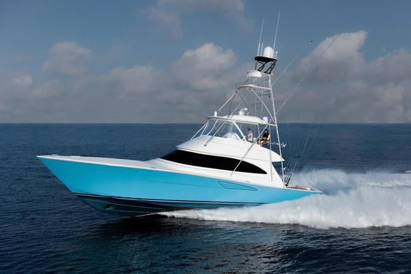 58' Viking Convertible 2019 | Blue Bird